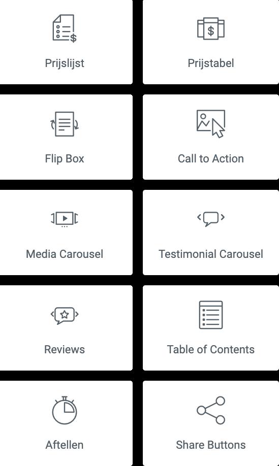 functionaliteiten websites door Progresso