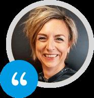Sandra Luthart van GK over Progresso