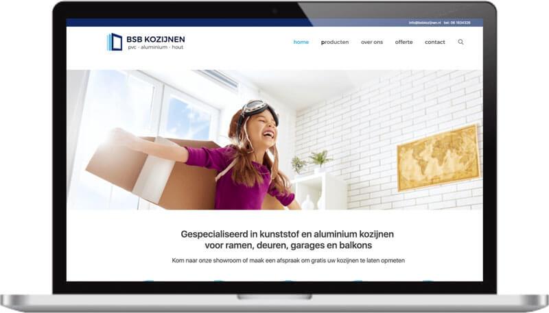 website gemaakt voor alle devices klant in Arnhem