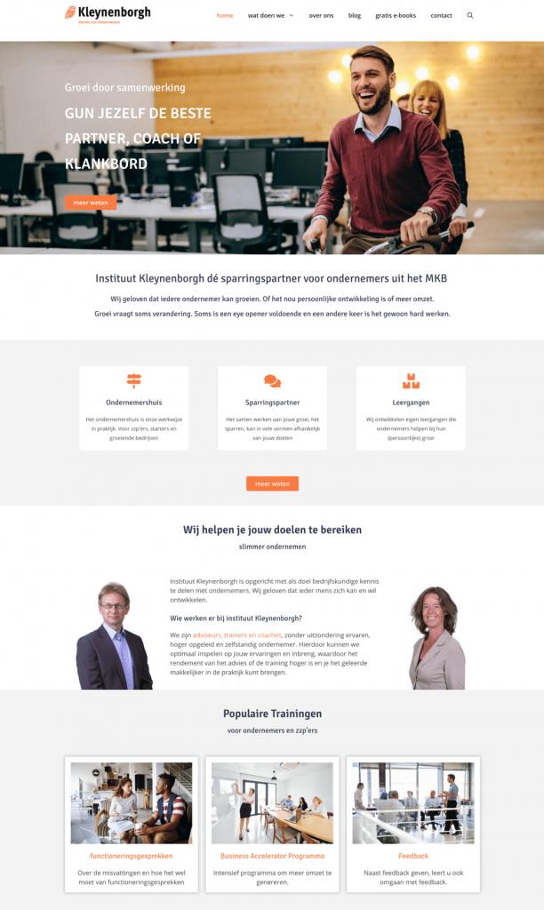 Instituut kleynenborgh website